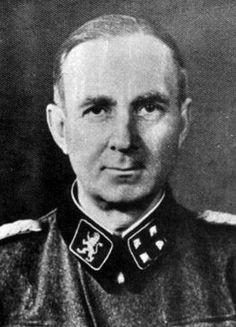 Вальтер Шимана. Руководитель СС и полиции на Дунае.