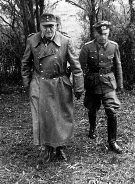 Теодор Буссе и Бруно Ортнер. 1944 г.