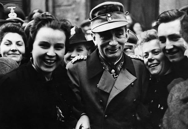 Эдуард Дитль в Каринтии. 1944 г.