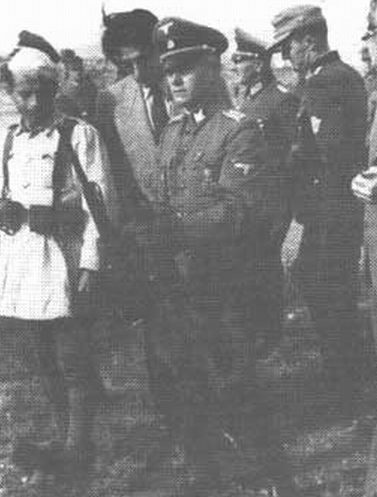 Вальтер Шимана. 1942 г.