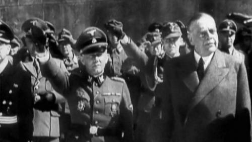 Вальтер Шимана и Иоаннис Раллис 1943 г.