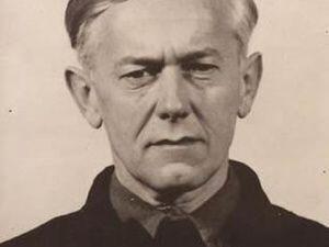 Вальтер Шимана в Нюрнберской тюрьме. 1945 г.