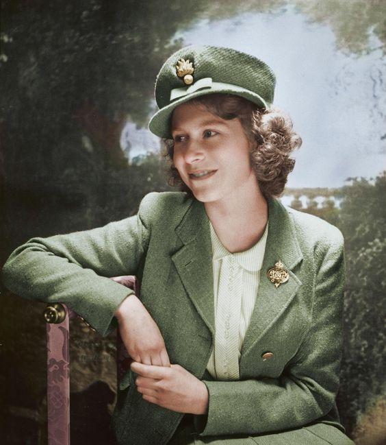 Принцесса Елизабет. 1943 г.