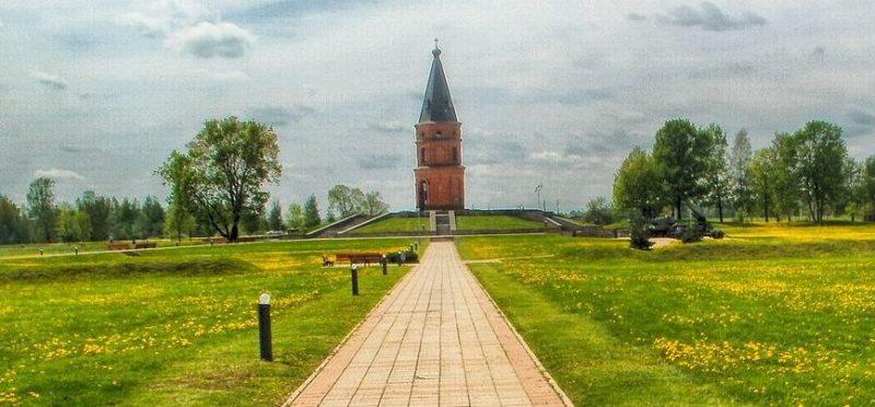 Общий вид мемориала «Буйничское поле».