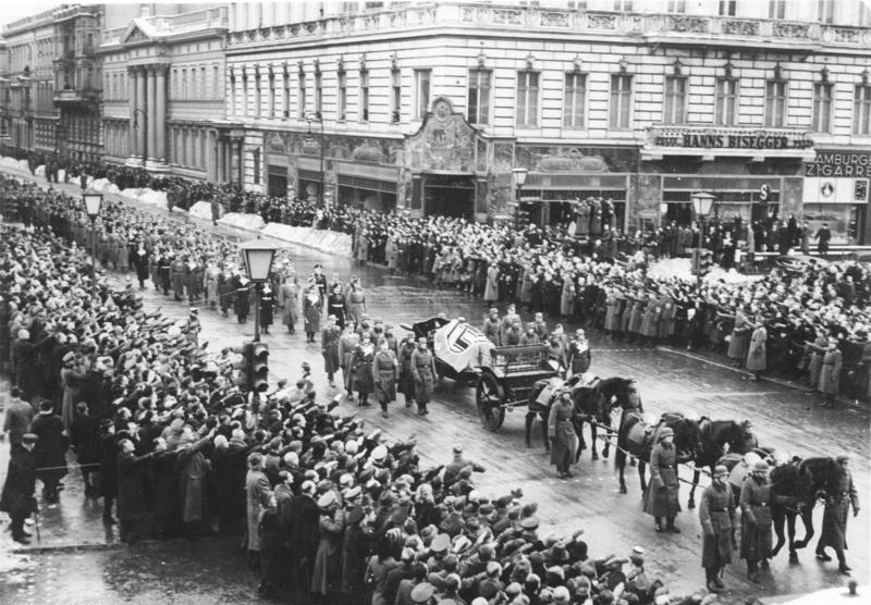 Похороны Фрица Тодта. 1942 г.