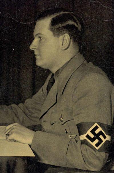 Бальдур Ширах. Рейхсюгендфюрер.