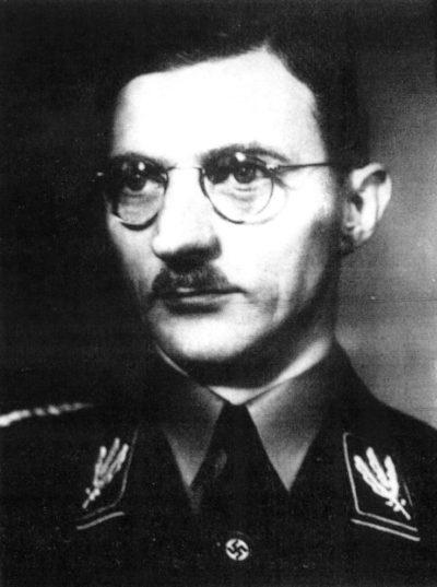 Карл Филер. Руководитель управления муниципальной политики НСДАП.
