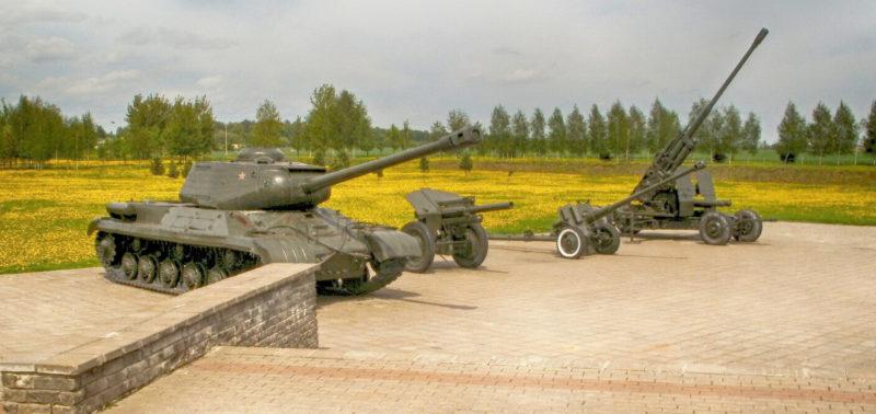 Советское вооружение на Буйничском поле.