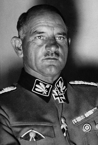 Зепп Дитрих. Генерал-полковник войск СС.