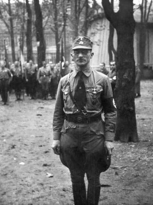 Карл Филер в СА. 1934 г.