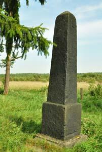 д. Сидоровка Краснопольского р-на. Памятник на месте расстрела 250 евреев в октябре 1941 г.