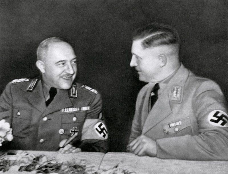 Константин Хирль и Фридрих Гильдебрандт. 1939 г.