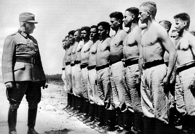Константин Хирль в Польше. 1939 г.