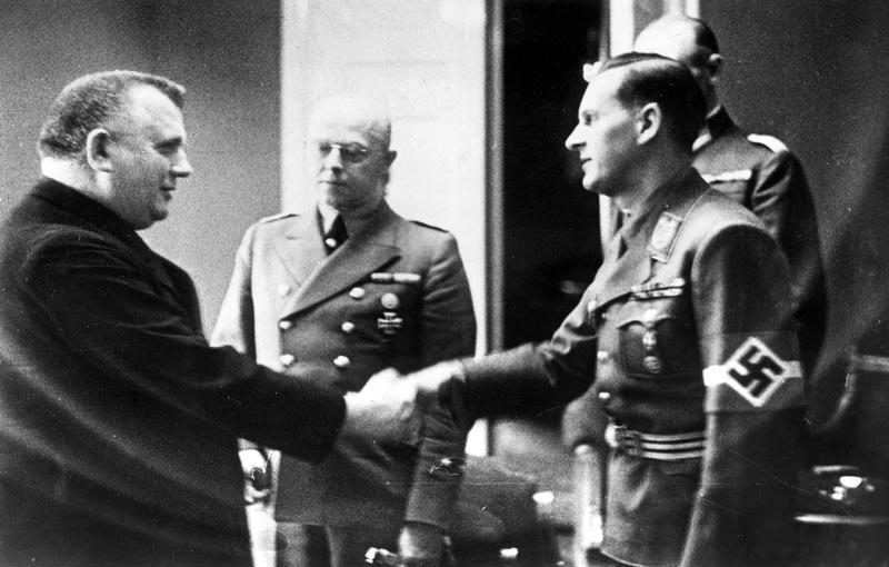 Бальдур Ширах и Йозеф Тисо. 1939 г.