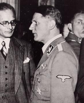 Леонардо Конти. 1945 г.