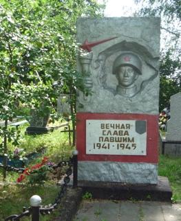 д. Бель-3 Кричевского р-на. Братская могила. Памятник установлен в 1985 году на братской могиле, в которой похоронено 72 советских воина, погибших в годы войны.