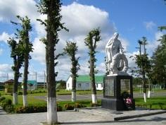 д. Ботвиновка Кричевского р-на. Братская могила. Памятник установлен в 1968 году на братской могиле советских воинов, погибших в 1943 году.