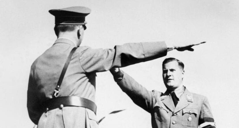 Бальдур Ширах и Адольф Гитлер. 1940 г.
