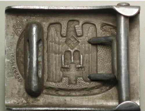 Ремень и пряжка рядового состава Немецкого Красного креста образца 1938 г.