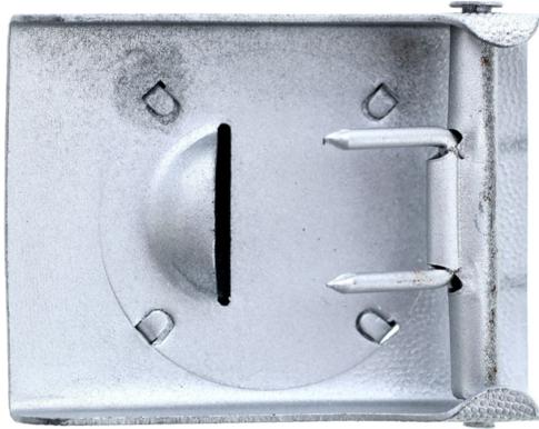 Алюминиевая пряжка рядового состава организации Тодта.