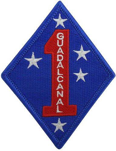1-я дивизия морской пехоты. Созданная в 1943 г.