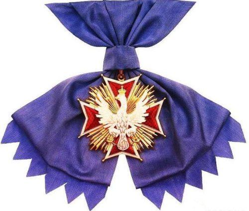 Орден Белого Орла на ленте.