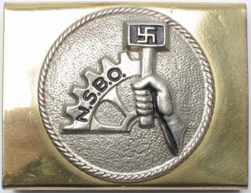 Неофициальные пряжки рядового состава NSBO.