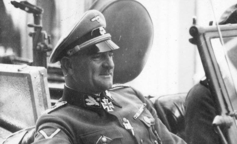 Зепп Дитрих. Франция. 1940 г.
