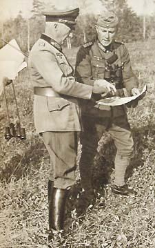 Ганс Клюге на Восточном фронте. 1941 г.