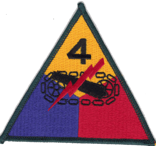 4-я танковая дивизия, созданная в 1944 г.