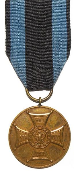 Аверс Бронзовой медали «Заслуженным на Поле Славы».