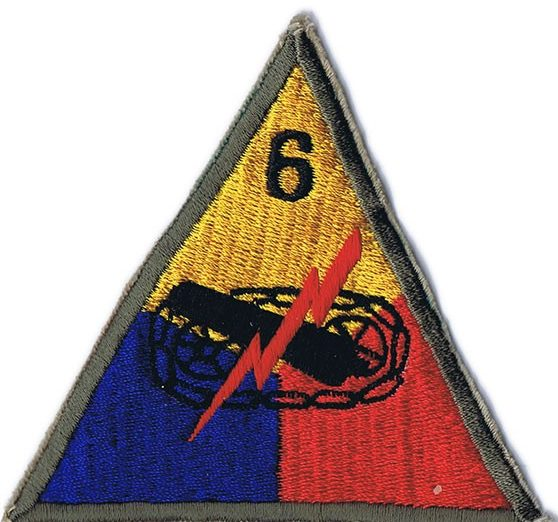 6-я танковая дивизия, созданная в 1944 г.