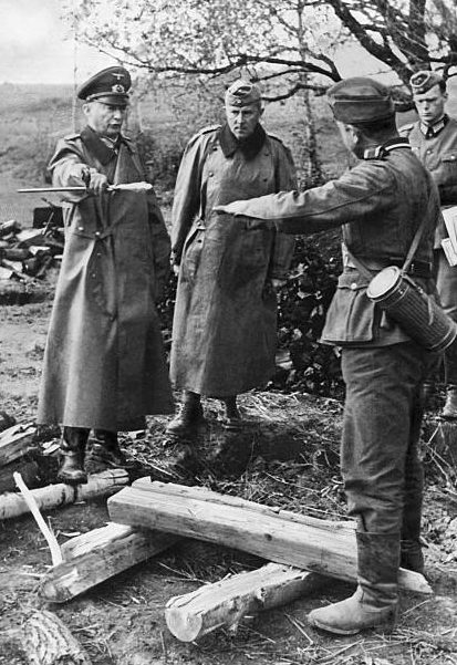 Ганс Клюге на Восточном фронте. 1942 г.
