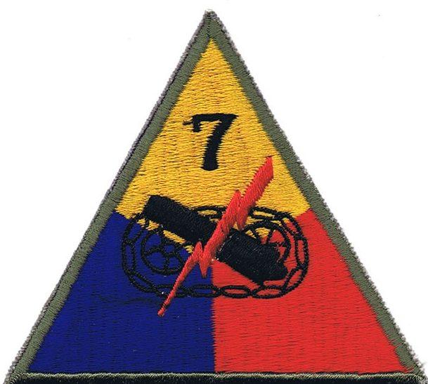 7-я танковая дивизия, созданная в 1944 г.