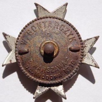 Аверс и реверс полкового знака 3-го Мазовецкого полка легкой кавалерии им. полковника Яна Козетульского.