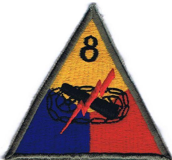 8-я танковая дивизия, созданная в 1945 г.