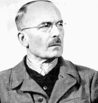 Лотар Рендулич в тюрьме. 1947 г.