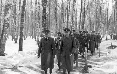 Ганс Клюге и Адольф Гитлер. 1943 г.