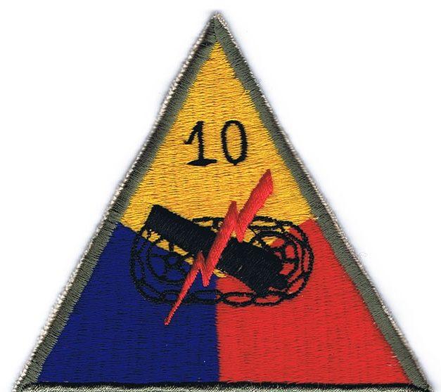 10-я танковая дивизия, созданная в 1944 г.