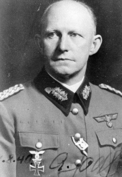 Альфред Йодль. Генерал-полковник.