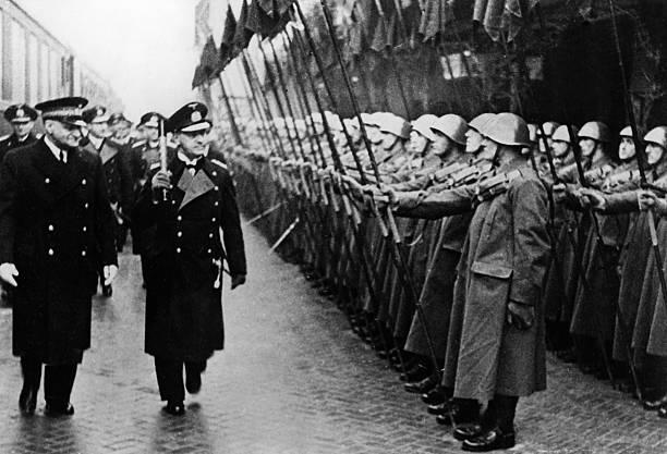 Эрих Редер в Италии. Мерано. 1941 г.