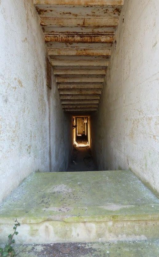 Один из входов в бункер сооружения №056.