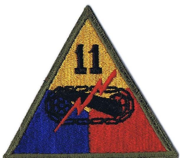 11-я танковая дивизия, созданная в 1944 г.