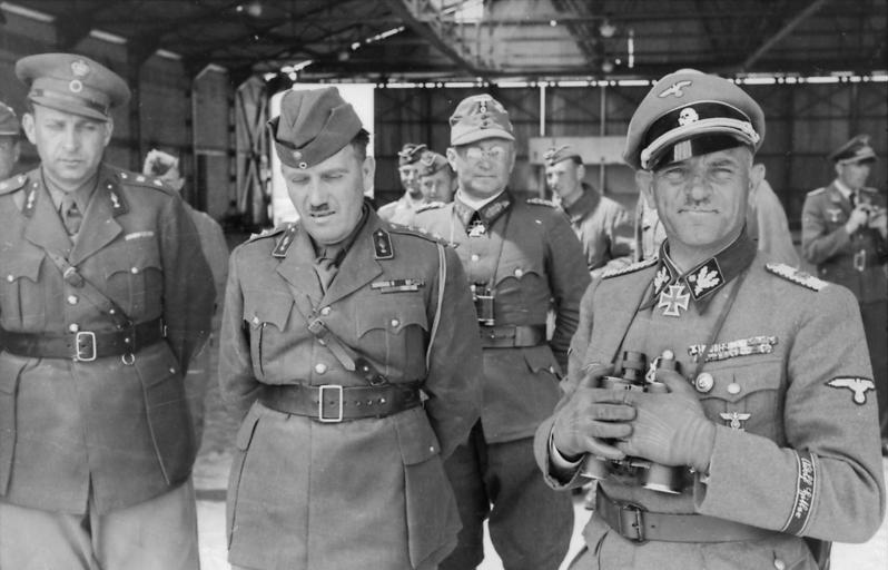 Зепп Дитрих в Греции. 1941 г.