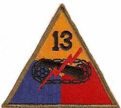 13-я танковая дивизия, созданная в 1945 г.
