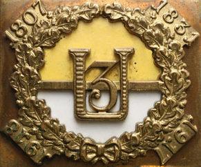 Полковой знак 3-го Слёнского уланского полка.