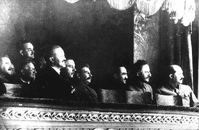 Сталин в Большом театре. 1936 год.