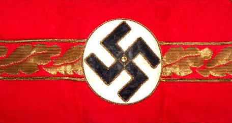 Нарукавная повязка целленляйтера в 1939-1945 годах.