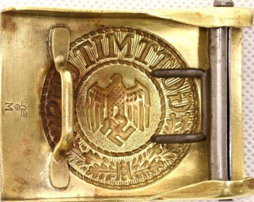 Пряжка латунная рядового плавсостава Кригсмарине.