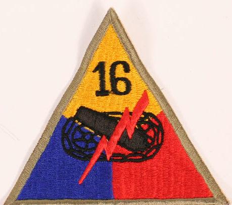 16-я танковая дивизия, созданная в 1945 г.
